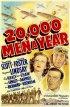 Постер «20,000 Men a Year»
