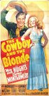 Постер «The Cowboy and the Blonde»