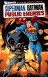 Постер «Супермен/Бэтмен: Враги общества»