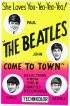 Постер «The Beatles Come to Town»