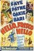 Постер «Привет, Фриско, Привет»
