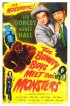 Постер «The Bowery Boys Meet the Monsters»