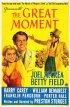 Постер «The Great Moment»
